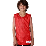 Youth Mesh/Dazzle Reversible Tank