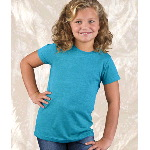 Girls Vintage Jersey Longer-Length Tee