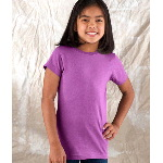 Girls Fine Jersey Longer-Length Tee