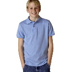 Youth Jersey Polo with SpotShield™
