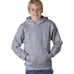 Youth ComfortBlend® EcoSmart™ Hooded Pullover Sweatshirt
