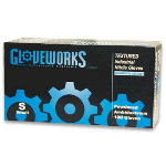 Gloveworks Powdered, Textured Nitrile Gloves (Case)