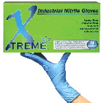 Xtreme X3 Powder Free, Textured Nitrile Gloves (Case)