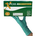 Xtreme Green Powder Free Nitrile (Case)