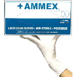 Powdered, Smooth Latex Gloves (Case)