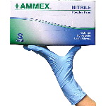 Powder Free, Textured Nitrile Gloves