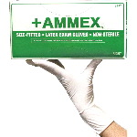 Hand Specific, Powdered Latex Gloves