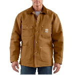 Mens Duck Chore Coat, Blanket Lined