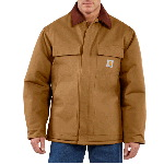 Mens Duck Arctic Traditional Coat, Quilt Lined