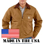 Mens Duck Detroit Jacket, Blanket Lined