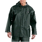 Mens Lightweight PVC Rain Coat