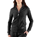 Womens French Terry Track Jacket