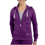 Womens Hooded Track Jacket