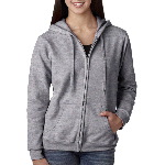 Missy Fit 50/50 Heavy BlendTM Full Zip Hooded Sweatshirt