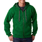 Adult 50/50 Heavy BlendTM Vintage Classic Full Zip Hooded Sweatshirt