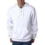 Adult NuBlend� 50/50 Quarter-Zip Hooded Sweatshirt