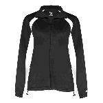 Ladies Hook Brushed Tricot Polyester Full Zip Jacket