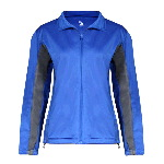 Ladies Drive 100% Brushed Tricot Polyester Jacket