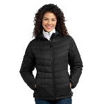 Ladies Ladies Mission Hooded Puffy Jacket