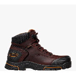 "Adamas� 6"" Brown Plain Toe Work Boots"