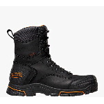 "Adamas� 8"" Black Plain Toe Work Boots"