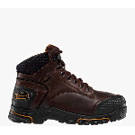 "Adamas� 6"" Brown Met Guard Steel Toe Work Boots"