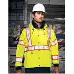 Mens ANSI Class 3 Chief Jacket