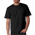 Mens 100% Cotton Crew Neck T shirt