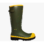 "16"" SPOG Olive Green Safety Toe Work Boots"