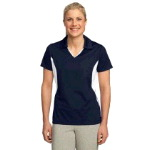 Ladies Side Blocked Micropique Sport-Wick� Polo