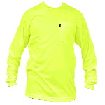 Enhanced Visibility Pocket T-Shirt Long Sleeve