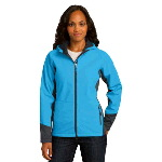 Port Authority� Ladies Vertical Hooded Soft Shell Jacket