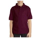 Youth Short Sleeve Pique Polo Shirt
