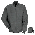 Mens Lined Solid Team Jacket