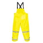 Mens Hi-Visibility Flame-Resistant Rain Bib Overall