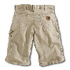 Carhartt Canvas Work Short Tan