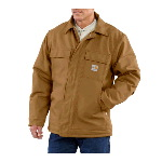 100% Cotton Flame Resistant Duck Traditional Coat