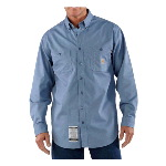 Flame Resistant Lightweight Twill Tradesman Shirt