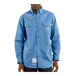 Flame Resistant Twill Shirt with Pocket Flaps