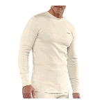 Heavyweight Cotton Thermal Crew Neck Top